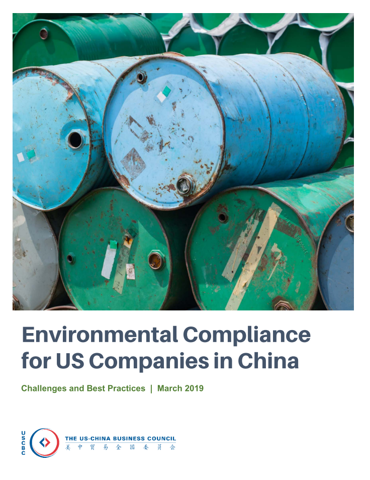 Environmental Compliance for US Companies in China | US