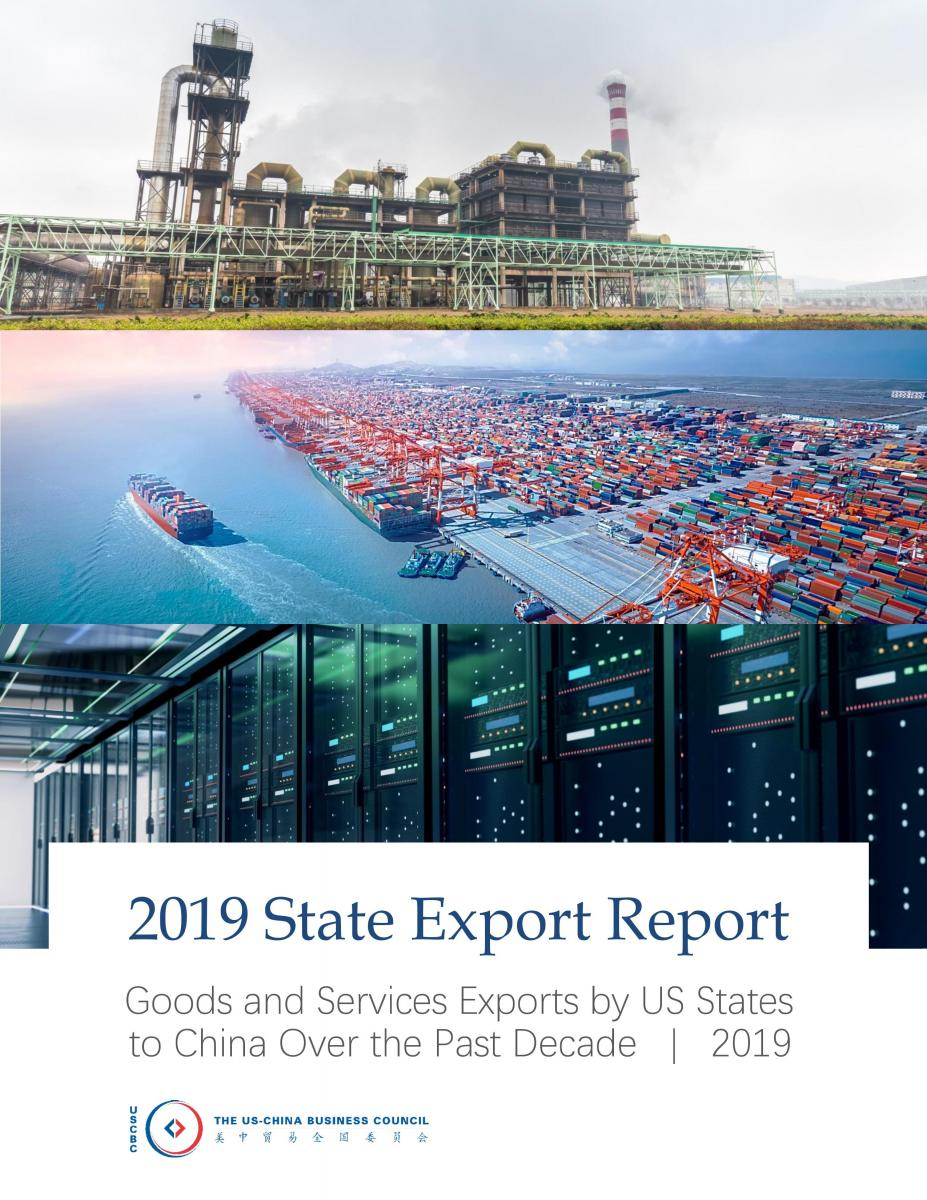 2019 State Export Report | US-China Business Council
