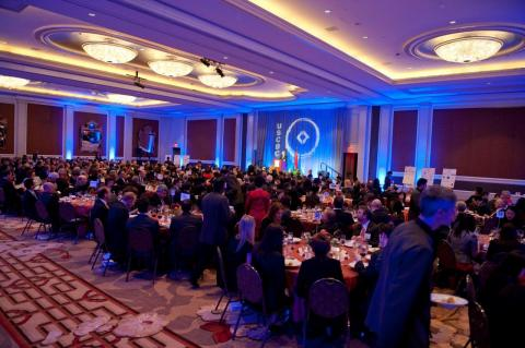 Nearly 400 guests from the business, public, academic and diplomatic communities attend USCBC's Gala 2011 to celebrate USCBC's leadership and partnership with the US business community.