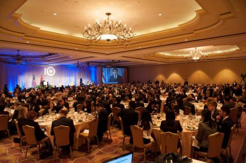 Nearly 400 guests from the business, public, academic and diplomatic communities attended USCBC's 2012 Gala to celebrate USCBC's leadership and partnership with the US business community.